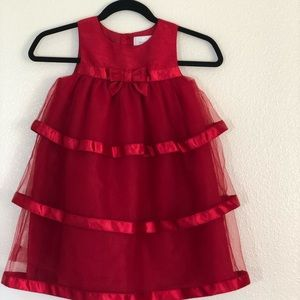 Gymboree Dressed Up red party dress, SZ 5T